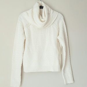 NY and Co winter white cowl neck sweater